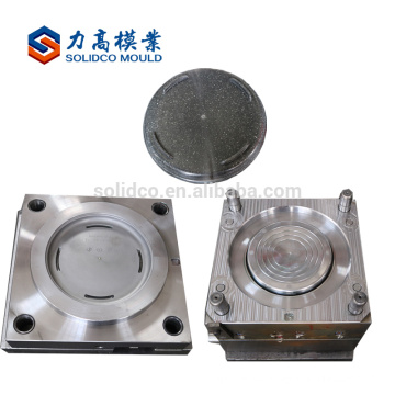 Plastic tortilla holder injection mould container mold