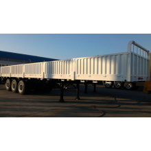 Sinotruk 13.5m Drop Side Cargo and Container Semi-Trailer Truck