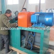 Máquina de la prensa de la briqueta de la biomasa de la paja del serrín