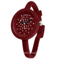 Kids Silicone Thin Strap Diamond Quartz Watch