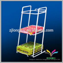 Heißer Verkauf Supermarkt Zähler Metall Kaugummi Display Stand