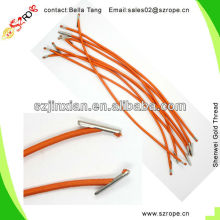 Orange Elastic Cord With Metal Barb