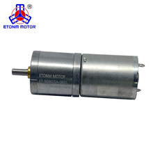 3v 6v 12v 24v low noise dc gear motor with encoder