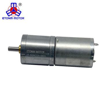 3В 6В 12В 24В низкий уровень шума DC мотор-редуктор с энкодера