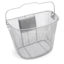 Guidon de bicyclette d'alliage d'aluminium avec le panier en métal