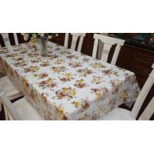 Pano de mesa de flores