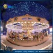 High Quality Amusement Equipment Merry Go Round 16 24 36 Seats Carousel. Luxury Carousel.