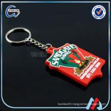 promotion wholesale pvc western owl keychains