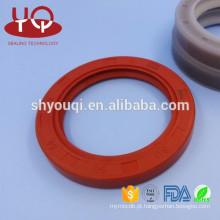 Selos de borracha da resistência de óleo do silicone do absorvente de Shork do caminhão / peças de selagem do selo de óleo VMQ do silicone
