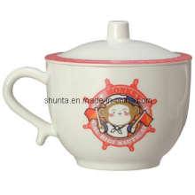 """100% меламина серии """"Биджи"""" посуда - детские кружка ж/Крышка/меламин посуда (BG630S)"""