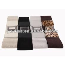 Cinturón elástico de la manera de las mujeres del leopardo