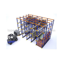 warehouse heavy duty drive through pallet rack