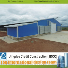 Jdcc Easy Transport and Install Steel Chicken House
