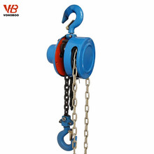 construction lifting tools light weight 1.5 ton 30ton CE approved manual chain hoist