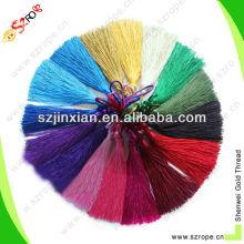 colorful silk tassels wholesale,tassel,rayon thread tassel