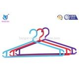 Hanger size maker cloth hanger rack with hanger labels