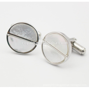 Fashion Screw Cap Design 316L Stainless Steel Cufflink