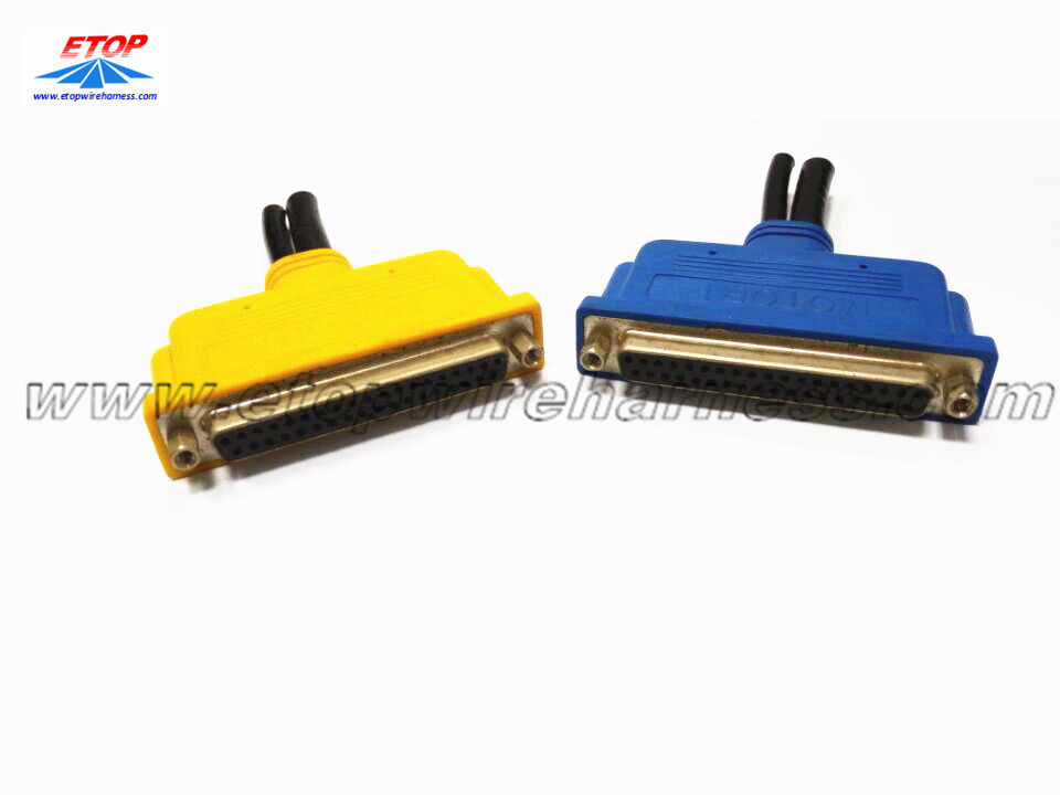 62pin D-sub maschio convertito in cavo femmina 32pin