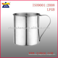 Direct manufacture singal wall stainless steel lion coffee mug made in China