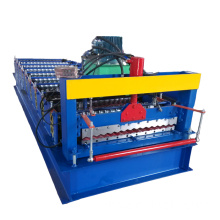 Lembaran Steel Bahan Dicetak Warna Roll Forming Machine