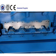 Mejor calidad de 1250 mm piso cubierta rollo formando equipo