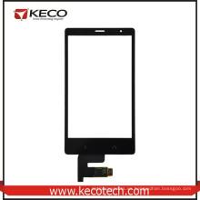 Original de pantalla táctil digitizer piezas de repuesto de vidrio para Nokia X2 1013