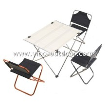 aluminium camping folding table and chair sets