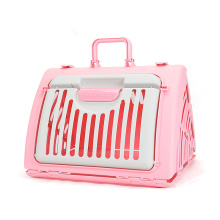 HOT SELL Durable Portable Airline Approved Outdoor Travel Colorful Luxury Plastic Pet Box House Cat Dog Cages Carriers