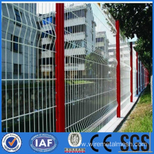 High quality curved welded wire mesh fence