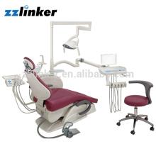 Foshan Anle AL-398HF tipos de Cadeira Odontológica Spittoon e Motor