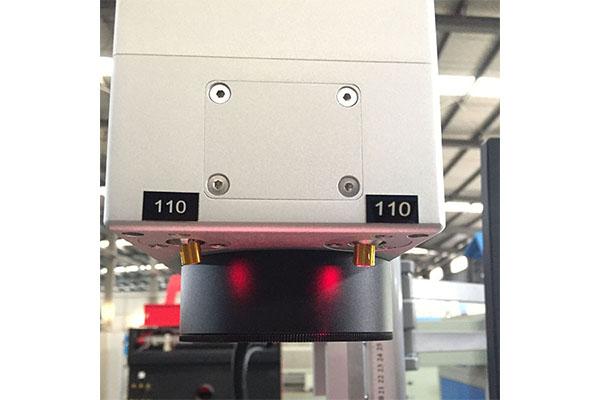 high speed metal laser marking machine