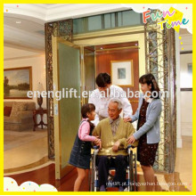 0.4m / s velocidade home / villa elevador para deficientes na china