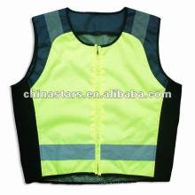 EN471 100%polyester high visibility safety vest