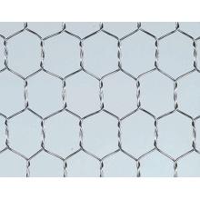 Malha de arame hexagonal galvanizado a quente