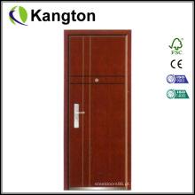 Portas de entrada de edifício de apartamento de aço (porta de entrada)