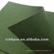 420 / 530gsm rolos de lona verde-oliva para tenda
