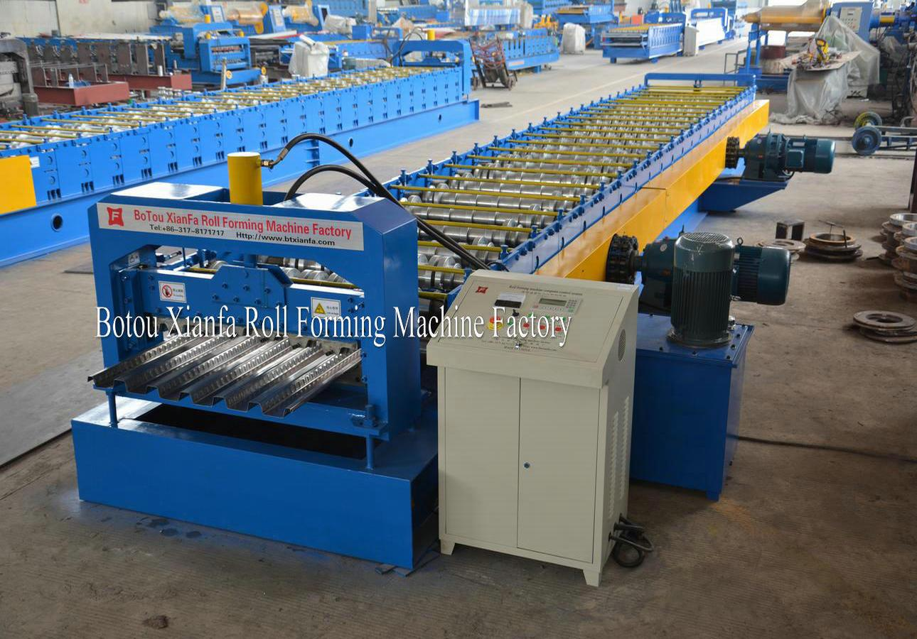 floor deck rolling machinery