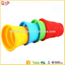 Eco amigable reutilizable no Stick taza de beber de silicona