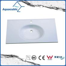 High Quality Clean Bathroom Wash Basin Sink Polymarble Basin