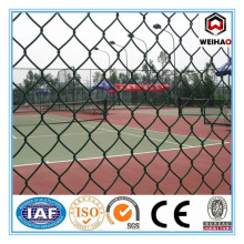 High quality pvc coated chain link fence for baseball fields
