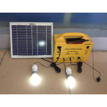 Portable House Solar Lighting System with Mobile Charger