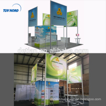 Detian Offer exhibition display system aluminum extrusion trade show booth portable exhibition booth