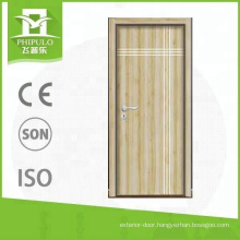 2018 Alibaba hot press MDF panel interior melamine wooden door