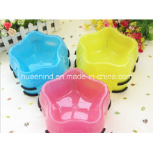 Star Shape Pet Bowl, High Quality PP Pet Bowl