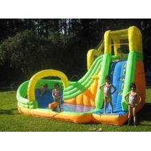 0.90mm PVC Commercial Inflatable Water Slide for Water Park