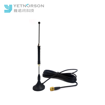 9dbi 600 2700MHz Magnetic Indoor Telescopic Rod Antenna for GSM 4G LTE