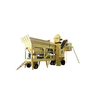 Ready Mixed  Mobile Concrete Mixing Plant Price