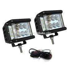 Luz de conducción de alta calidad del lumen LED de los equipos de barra campo a través del atv 4x4 del estroboscópico 12V 60W del estroboscópico de la prenda impermeable 36W 60W