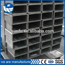 Tubo rectangular vendedor caliente de los muebles de ERW GB / T6728 en el mismo tamaño