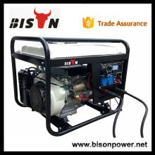BISON (CHINA) 5kw 6kw 190A Gerador de gasolina de solda 300 amp